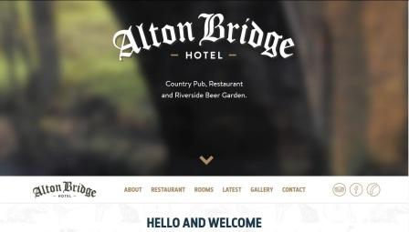 image of the Alton Bridge website