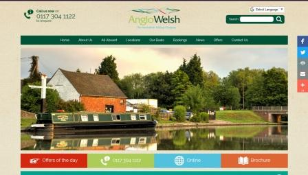 image of the Anglo Welsh website