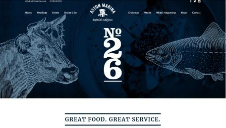 image of the No.26 website