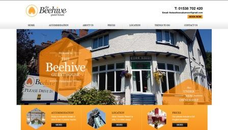 image of the Beehive website