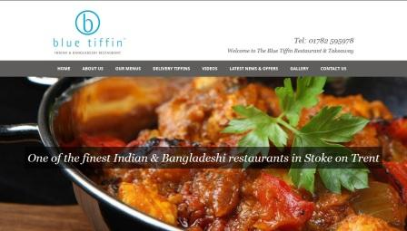image of the Blue Tiffin website
