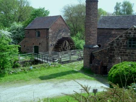 image of the Cheddleton Flint Mill website