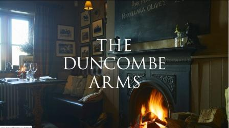 image of the Duncombe Arms website