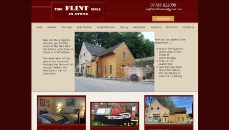 image of the Flint Mill website