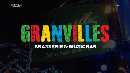 image of the Granvilles website
