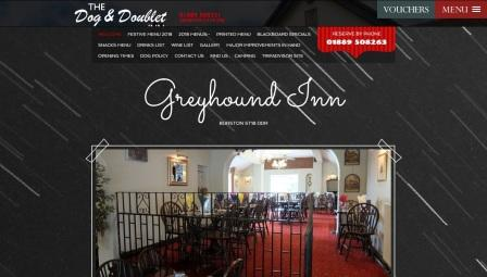 image of the Greyhound website