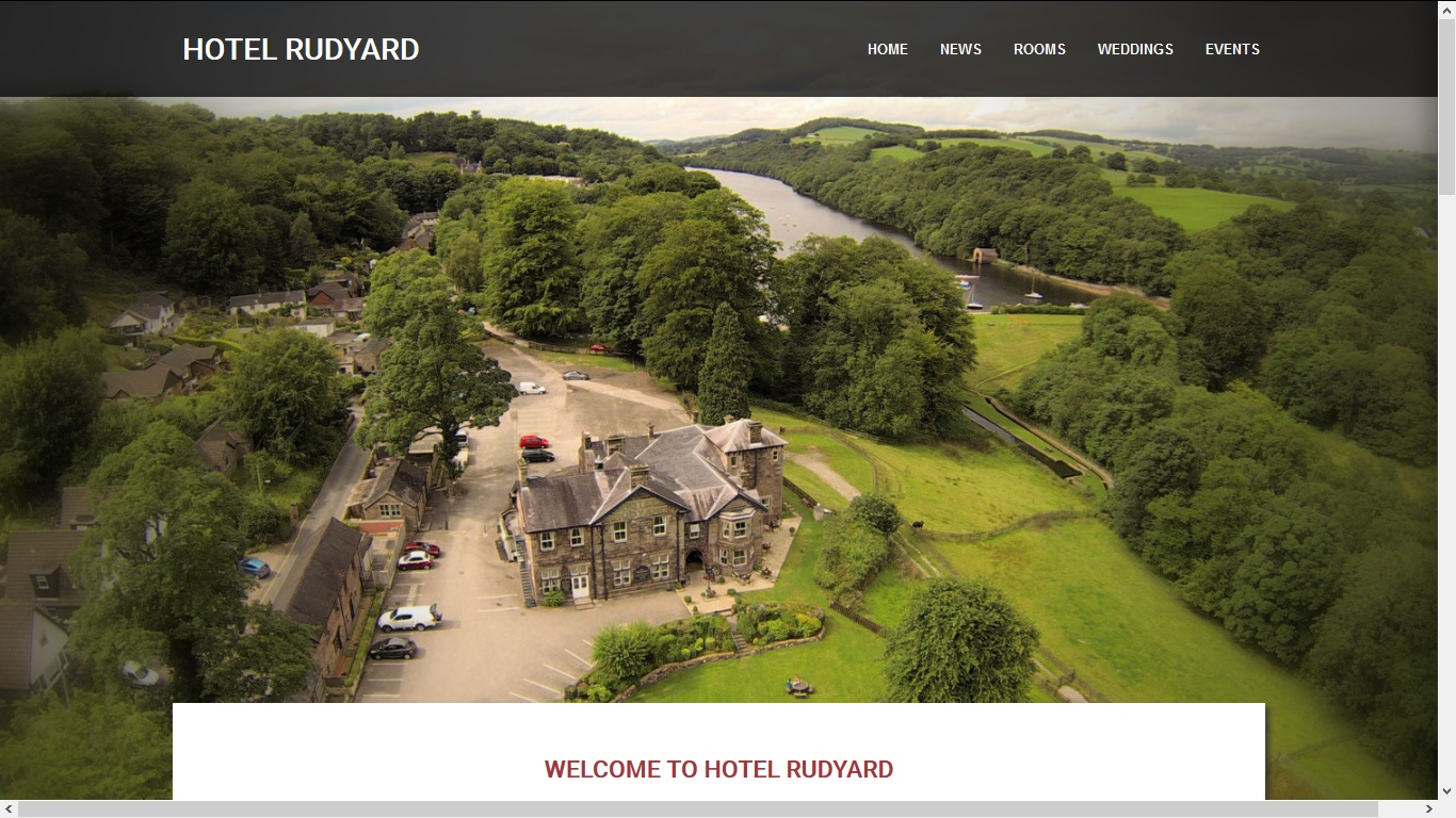 image of the Hotel Rudyard website