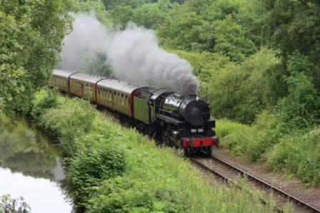 image of the Churnet Valley Railway website