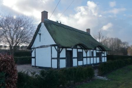 image of the thatched cottage