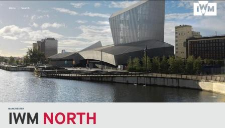 image of the Imperial War Museum North website