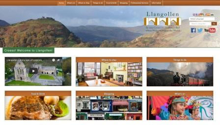 image of the Llangollen website