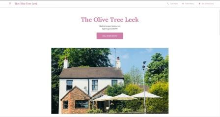 image of the Olive Tree  website