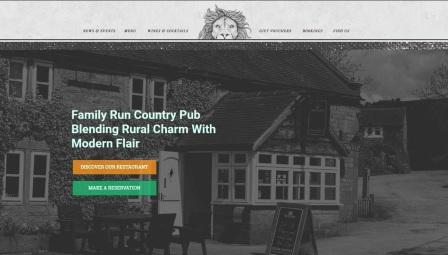 image of the Reform Inn website