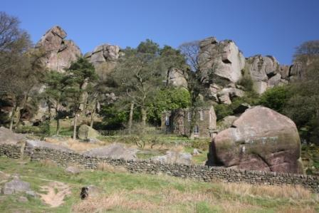 image of the roaches rocks