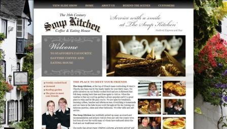 image of the Soup Kitchen website