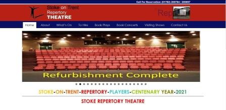 image of the Stoke Rep website