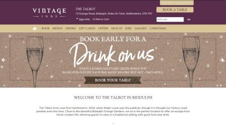 image of the Talbot website