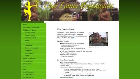 image of the Thai Lanna website