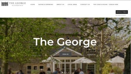 image of the The George website