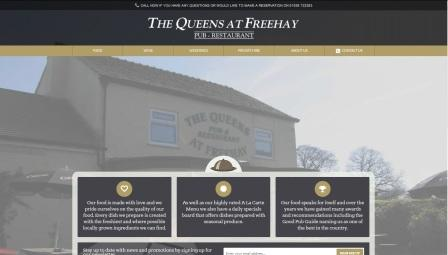 image of the Queens website