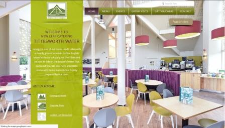 image of the Waterview Restaurant website