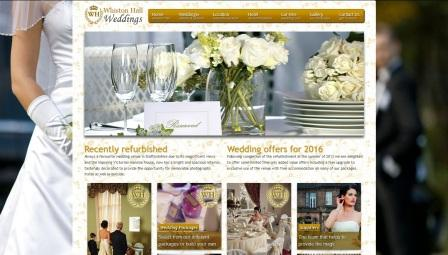 image of the Whiston Hall website