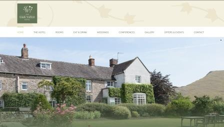 image of the Izaak Walton Hotel website